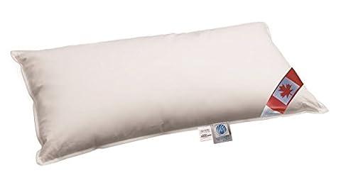 NEUHEIT: Premium Air Cell 3-Kammer Kissen außen: 100% Daune Canada Dreams 40x80 cm soft & stützend