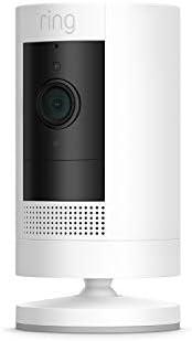 Ring Stick Up Cam Battery, HD-beveiligingscamera met tweeweg-audio | Inclusief proefabonnement van 30 dagen op