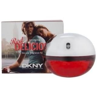 Awesome DKNY Red Delicious Eau De Toilette Spray für Herren & 50ml Fassungsvermögen