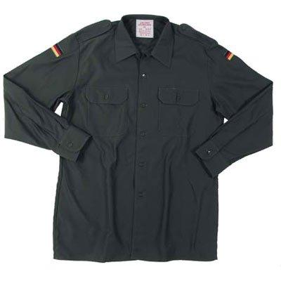 Bundeswehr Feldhemd oliv Langarm von Mil-TEC - Outdoor Shop