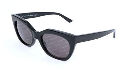 Balenciaga Damen Sunglasses Ba0132 01A-54-18-140 Sonnenbrille, Schwarz, 54