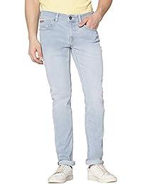 Lee Cooper Stone Wash Slim Fit Stretch Jeans