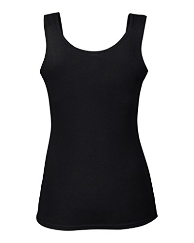 anvil Damen Top Slim Fit Black
