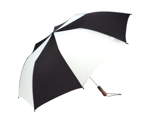 shedrain-2041a-b-w-black-white-58-inch-arc-auto-open-jumbo-umbrella