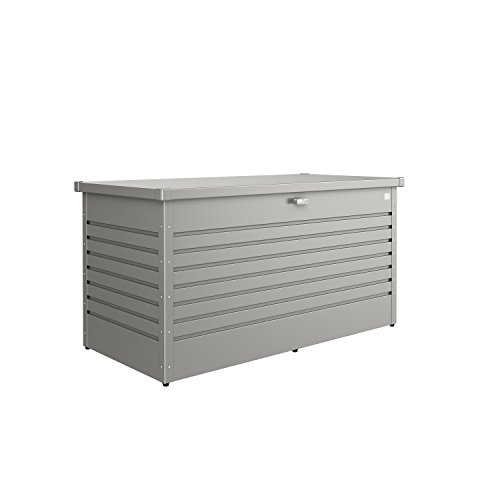 Biohort Freizeitbox Metallbox quarzgrau-metallic 160 x 79 x 83 cm (Größe 160 HIGH)