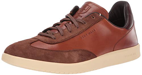Cole Haan Herren Grandpro Turf Sneaker Turnschuh, Tumbled/British Tan Suede, 45.5 EU - Turf Turnschuhe