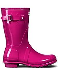 Hunter Edgecomb W24547 - Sandalias de caucho para mujer, color negro, talla 37