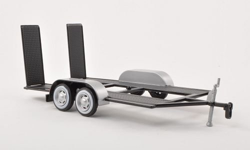 remolque para/de 1:24 modelos con biela , Modelo de Auto, modello completo, Motormax 1:24