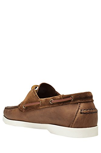 next Chaussures Bateau En Cuir Standard Homme Marron