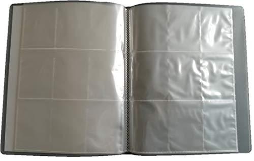 Arkero-G Sammelmappe mit 12 Seiten (für 216 Karten) 9-Pocket Tauschalbum / Sammelalbum Ordner / Mappe LEER (Fußball-karte Ordner)