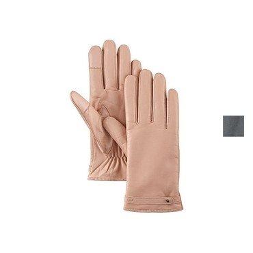 Timberland Leather Glove W/ Str Dark Shadow L (Glove Dark Shadow)