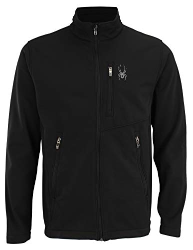 Spyder Men's Transport Full Zip Softshell Jacket, Color Variation -