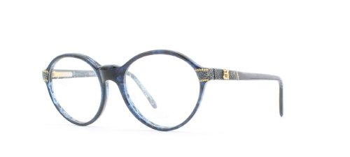 Emmanuelle Khanh Damen Brillengestell Blau blau