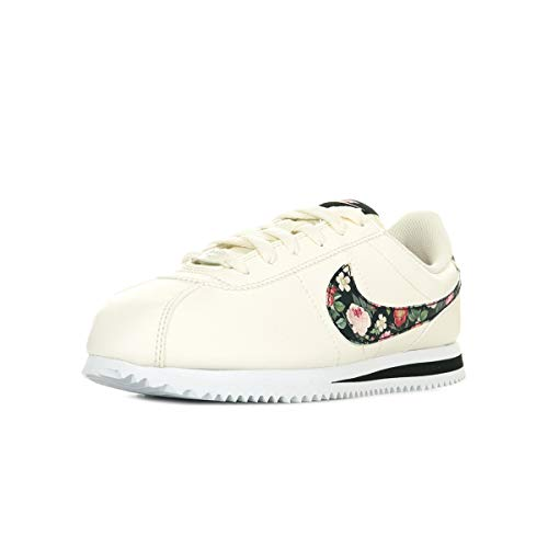 Nike Cortez Basic Vintage Floral, Scarpe da Trail Running Donna, Multicolore (Pale Ivory/Black/Pink Tint 100), 37.5 EU
