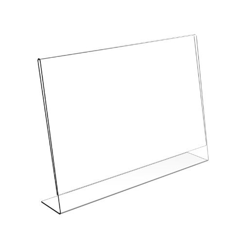 Displaypro Soporte para carteles y menús, de plástico, tamaño A4