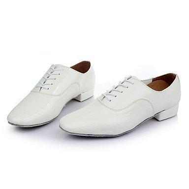 Kinder Tanzschuhe Kunstleder Modern Heels Low Heel Indoor White