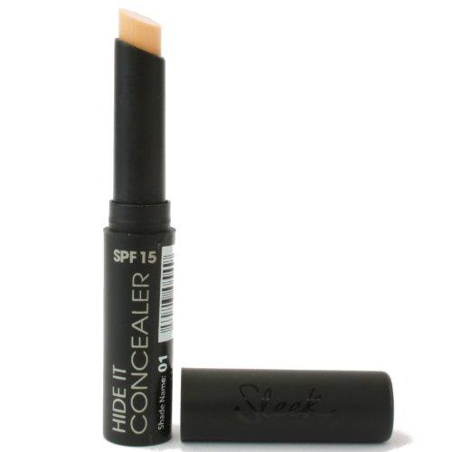 Sleek MakeUp – Hide it – Stylet Concealer – Couleur 01 (Peau Normale)