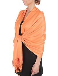 14594c4437c6 Amazon.co.uk  Yellow - Scarves   Wraps   Accessories  Clothing