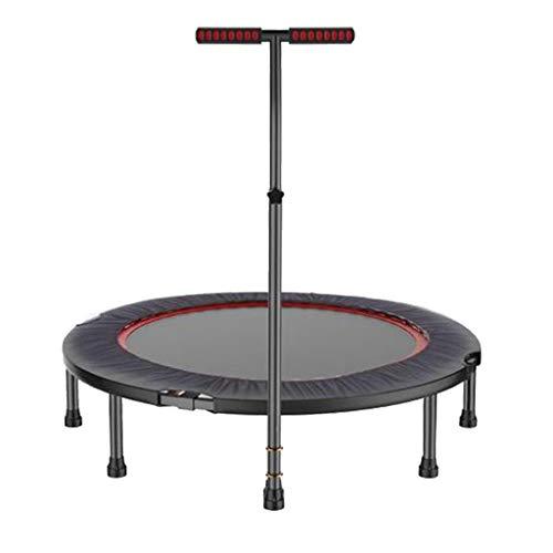 47-Zoll-Minitrampolin Indoor-Fitness-Trampolin Mit Armlehnen Klappbares Kinder- Und Erwachsenentrampolin Maximale Belastung Von 250 Kg