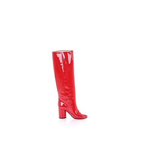 Maison Margiela Damen S58ww0071pr035t4042 Rot Leder Stiefel