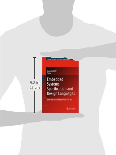 Embedded Systems Specification and Design Languages: Selected Contributions from FDL'07 (Lecture Notes in Electrical Engineering)