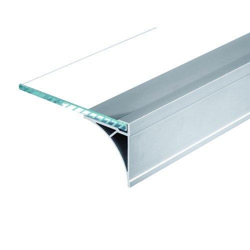SLV Glenos Regal/Aufbauprofil, 60 cm, alu eloxiert 213534