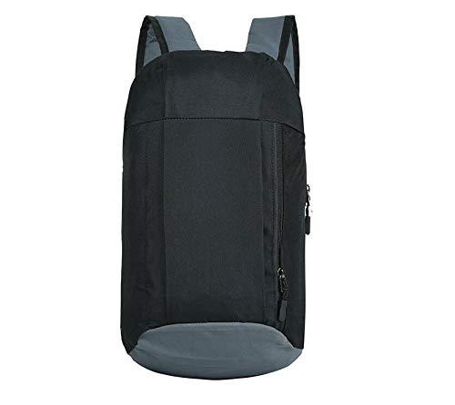 Leichter Wanderrucksack, atmungsaktiv, tolle kleine Rucksäcke (schwarz)