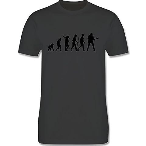 Evolution - Gitarrist Evolution - L - Dunkelgrau - L190