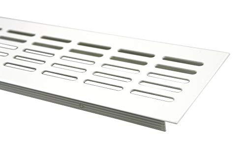 MS Beschläge Lüftungsgitter Stegblech Lüftung aus Aluminium 80mm x 400mm in verschiedenen Farben...