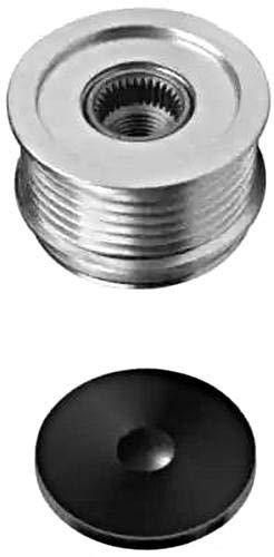 HELLA 9XU 358 038-041 Dispositivo ruota libera alternatore, Puleggia -Ø: 56,2mm, Dimensioni filettatura: M16x1,5, N° scanalature: 6