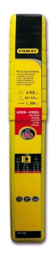 Stanley 460840 - Electrodos de acero (50 unidades, diámetro: 4 mm)