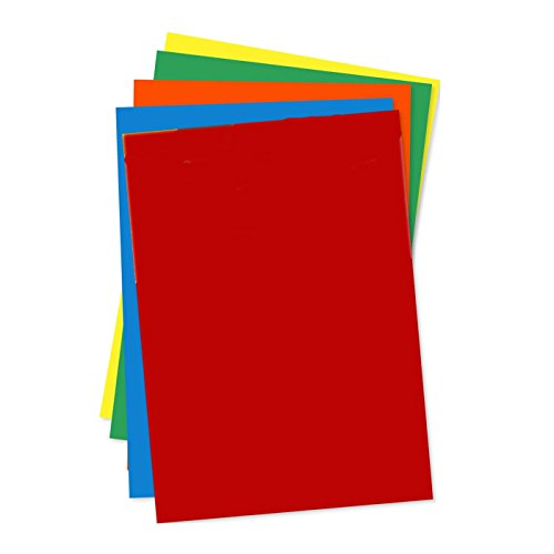 A4 Assorted Coloured Bright Paper 100 Sheets (80gsm) by Be Creative
