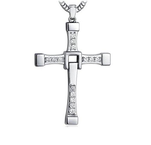 plata-de-ley-925-collar-colgante-58cm-rapido-y-furioso-de-hombre-mujer-con-caja-de-regalo