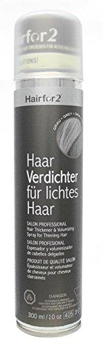 Hairfor2 Haarverdichtungsspray grau, 1er Pack (1 x 300 g)