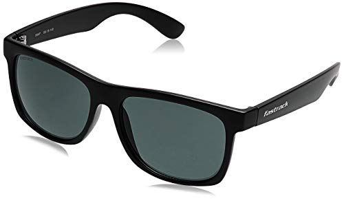 Fastrack UV Protected Wayfarer Men's Sunglasses - (P425GR4 56 Green Color Lens)