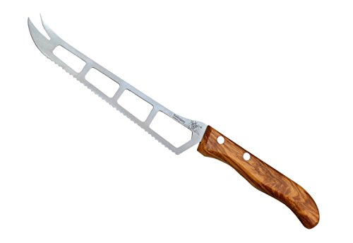 Schwertkrone Käsemesser Holzgriff Olive Solingen...