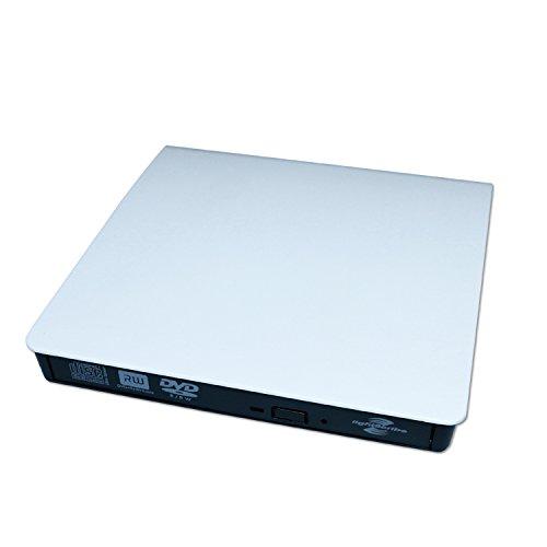 Driver Esterno Ultra-sottile USB 3.0 CD/DVD-RW Writer Player Esterno per Apple Macbook/ Macbook Pro/ Macbook Air/ Mac OS/ Mac Mini O Altro Laptop/Desktops
