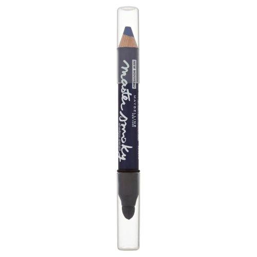 Maybelline New York Master Smoky Shadow-Pencil Lidschattenstift 1 Schritt: Kräftige Linie ziehen + 2. Schritt: Ausblenden. Farbe: Smoky Navy / Dunkelblau Smokey Eyes Pencil. Ein Stift für strahlend schöne Augen.