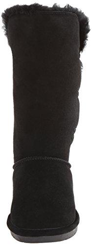 Bearpaw Damen Lauren Kurzschaft Stiefel Schwarz (BLACK II  011)