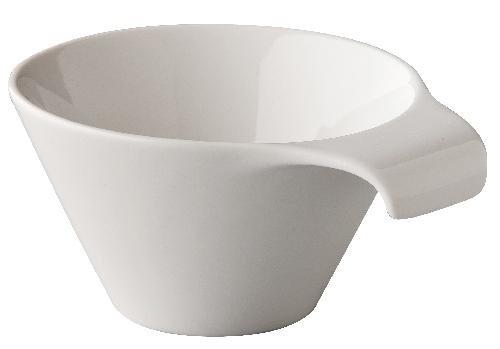 6 x Suppenschüssel, Suppentasse, Porzellan, weiß, 30 cl, Ø 12.5 cm, Höhe: 7.5 cm