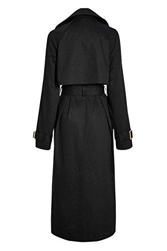 next Femme Tall Fit Trench Oversize Noir