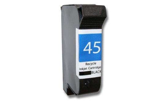 vhbw kompatible Ersatz Tintenpatrone Druckerpatrone Schwarz für Drucker HP Deskjet 870c, 870cxi, 880c, 890c, 895c, 895cxi, 9300, 930c, 959c, 960c