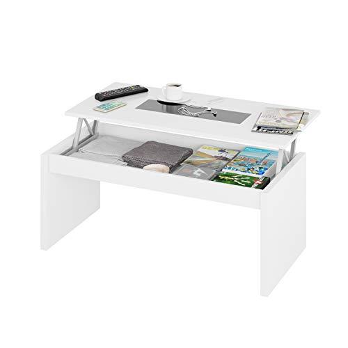 Fashion Home Habitdesign 0T1638BO - Mesa de Centro elevable ...