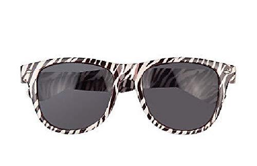 B025623-2 Gemustert Damen Tier Brille - Gepard Katze Kostüm