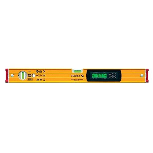 Preisvergleich Produktbild STABILA Elektronik-Wasserwaage Type 96 electronic IP 65, 40 cm, mit 2 Digital-Displays und Wasserwaagen-Tasche