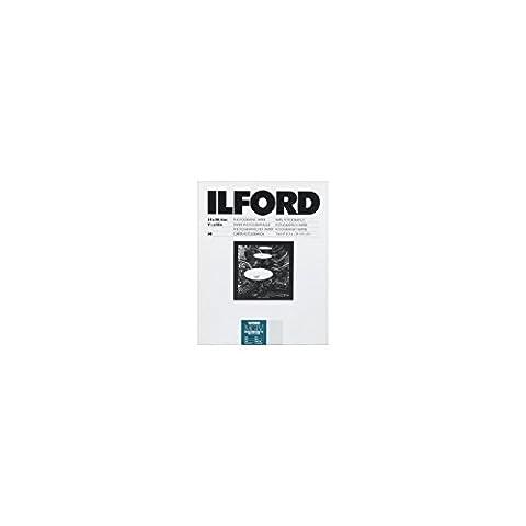 Ilford Photo Papier 17,8 x 24,0 cm 25 feuilles Brillant