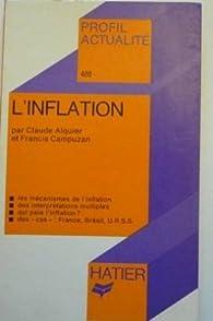 Profil actualité. L'inflation  par Francis Campuzan