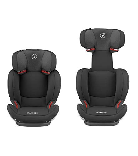 Maxi-Cosi RodiFix AirProtect Child Car Seat, Isofix Booster Seat, Black, 15-36 kg Maxi-Cosi Booster car seat for children from 15-36 kg (3.5 to 12 years) Grows along with your child thanks to the easy headrest and backrest adjustment from the top Patented air protect technology for extra protection of child's head 12