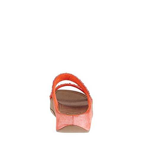 Fitflop Novy Slide Orange Flame Rouge