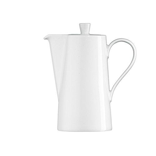 Ceramics American Style White Coffee Pots-a